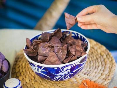Blue Totopos (Tortilla Chips) 200g