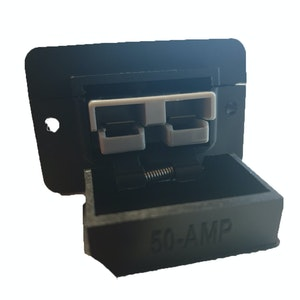 Trailer Vision 50 Amp Anderson Plug Flush Mount External Connector Cover