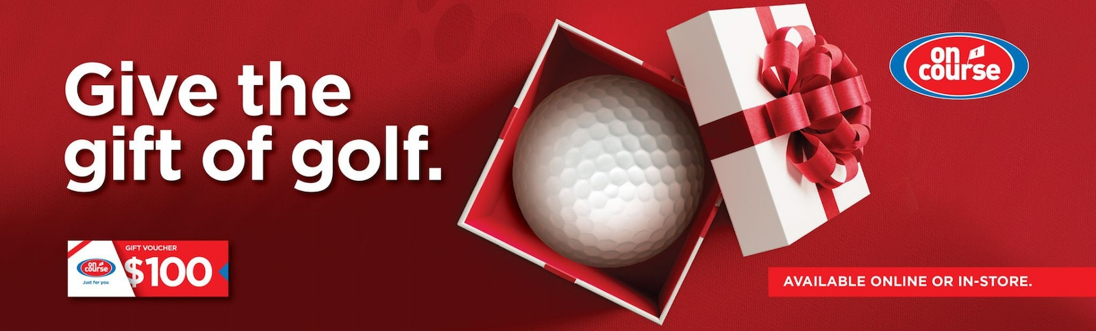 Give the Gift of Golf Banner