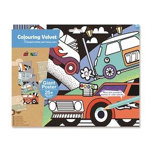 Avenir - Velvet Giant Poster - Transportation and Fancy Car