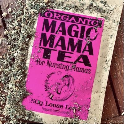 The Magik Mama Co Magic Mama Tea   Nursing Support