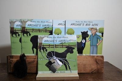 Archie the Black Alpaca Double Book Set