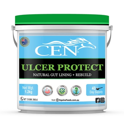 CEN Ulcer Protect Natural Gut Lining + Rebuild for Horses - 2 Sizes