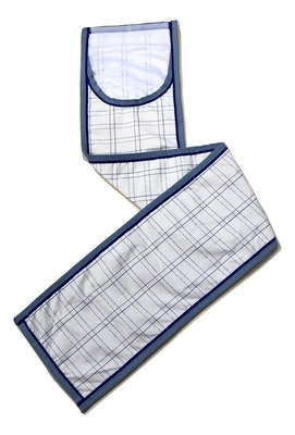 Capriole Equestrian Deluxe Grey & Royal Blue Summer Tailbag