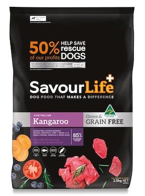 Savourlife Grain Free Adult Kangaroo 2.5kg