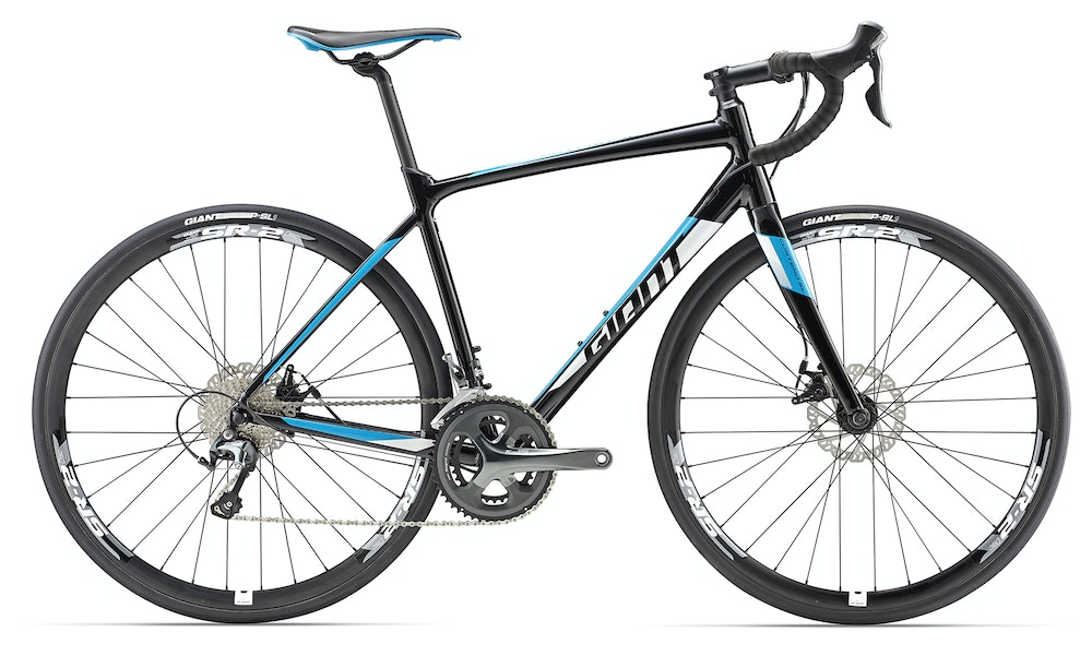 Giant Contend SL2D MD Black 2017 BikeExchange