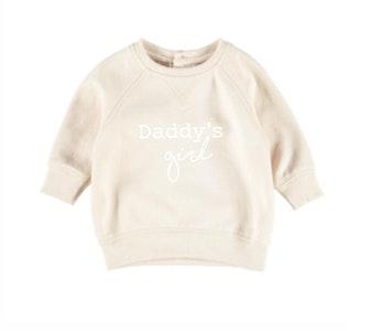 Daddy's Girl Jumper - Beige