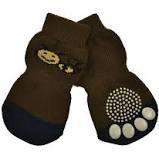 Zeez Non Slip Pet Socks Brown Bee 4xl 6*18cm