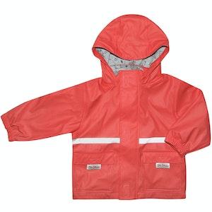 Silly Billyz Medium Red Waterproof Jacket