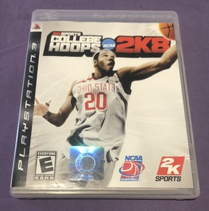 NCAA 2KSports College Hoops 2K8 *Complete* For PS3 Rare