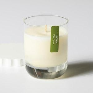 Pine Grove Glass Candle