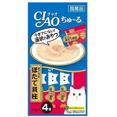 CIAO   Tuna & Scallop Recipe (4pcs/Pk)