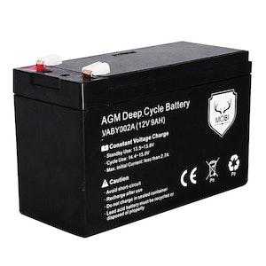 ATEM POWER ATEM POWER 12V 9AH AGM Battery AMP Lead Acid SLA Deep Cycle Battery Dual Solar Power