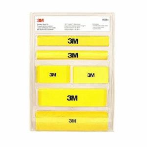 Hookit Yellow Foam Sanding Block 7 Piece Kit