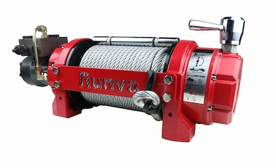 Runva HWV15000 with Steel Cable. Air Clutch Model