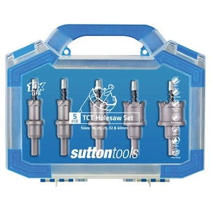 Sutton TCT Hole Cutter Set 5 Piece Set