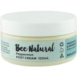 Bee Natural Peppermint FOOT CREAM 100mL