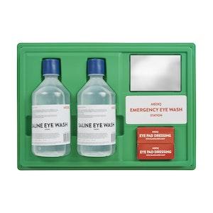 Mediq First-Aid Eye Wash Station - Mirror