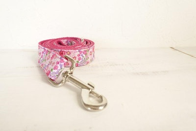 Barker & Bone Dog Leash | Pink Flower