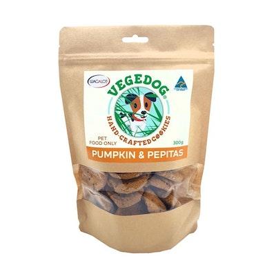 Vege Dog Cookies Pumpkin & Pepitas Dog Treats 300g