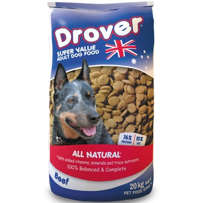 Coprice Drover Dog Food All Natural Beef Vitamins and Minerals 20kg