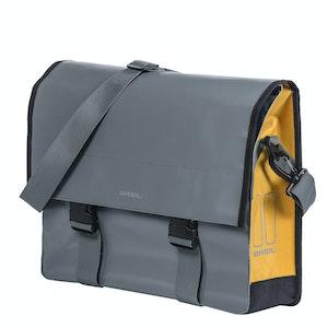 Basil Urban Load Messenger Bag Storm Grey 15-17L
