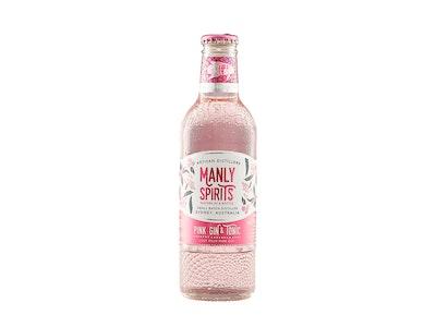 Manly Spirits Pink Gin & Tonic Bottle 275mL