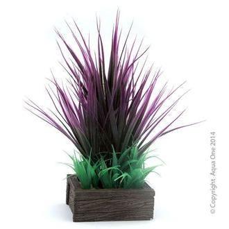 Aqua One Planter Box Square - Red Grasses