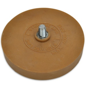 """APAC  Rubber Eraser Wheel 3.5""""/90mm"""