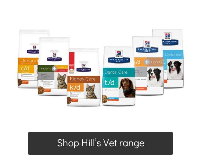 Hill's Vet Diet range