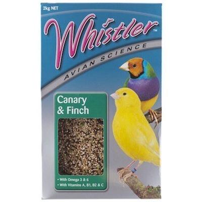Lovitts Whistler Avian Science Canary & Finch Bird Food Mix 2kg