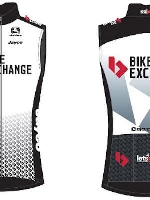 Giordana Team BikeExchange FRC Pro Wind Vest