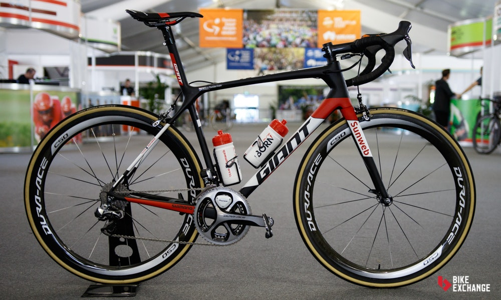 bikes of the 2017 worldtour sunweb giant tcr
