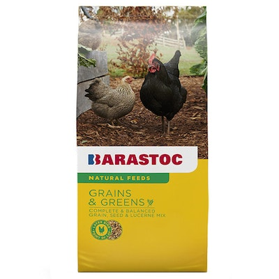 Barastoc Grains and Greens Laying Hen Chicken Poulty Suitable Feed 20kg
