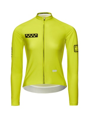 Pedla BOLD / Women's LunaPRISM L/S Jersey - Neon Yellow