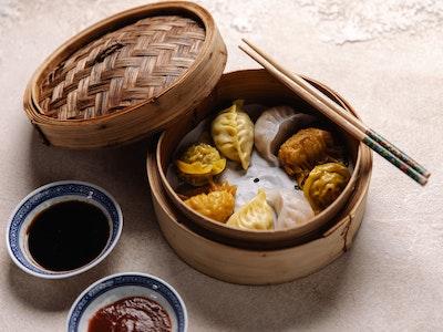 Mixed Dumplings Basket 8pc