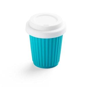 Onya BYO Coffee Cup Small 236ml (8oz) Aqua