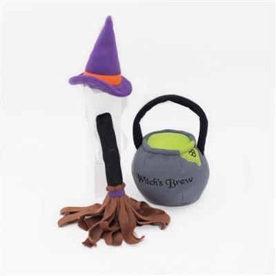 Zippy Paws Halloween Costume Kit - Witch