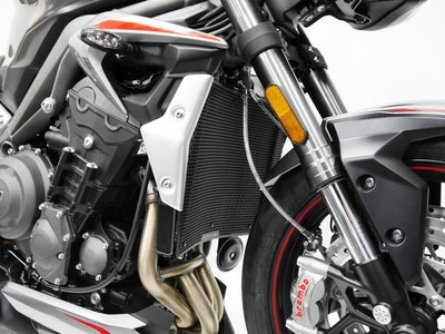 Evotech Performance Radiator Guard To Suit Triumph Street Triple RS 2020 - Onwards