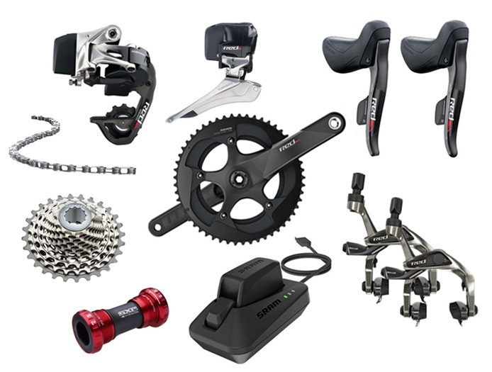 Road Bike Buyers Guide 2016 BikeExchange SRAM Red eTap groupset