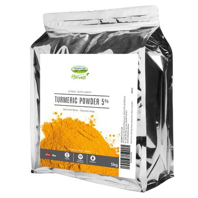 CROOKED LANE Harvest Turmeric Powder Dogs & Horses Herbal Supplement - 3 Sizes