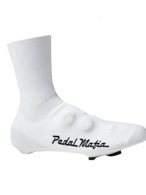 Pedal Mafia Overshoe - White / Black