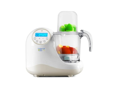 Cherub Baby Steamer Blender Baby Food Maker & Processor, Bottle Steriliser & Bottle Warmer