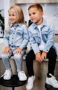 Beau Hudson Blue Demin Shirt