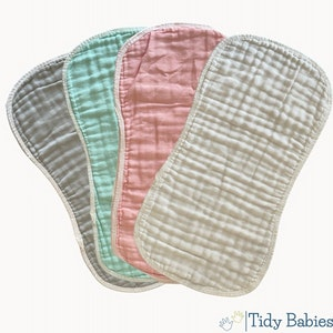 Tidy Babies  Muslin Cotton Baby Burp Cloth