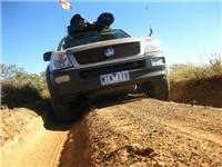 In a slight change of plans (1100km) GoSee Rodeo heads back to the gravel on the Tanami Track to Alice Spring
