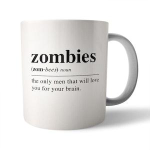 Dictionary Definition: Zombies - Ceramic Mug