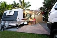 Ensuite-Site Adventure Whitsunday Resort Airlie Beach  Queensland.