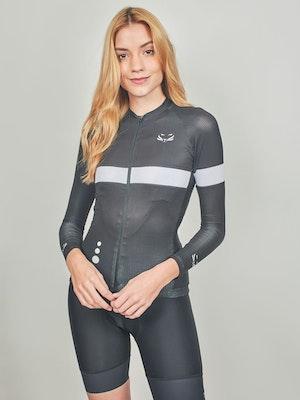 Taba Fashion Sportswear Camiseta Ciclismo Mujer Manga Larga Florencia