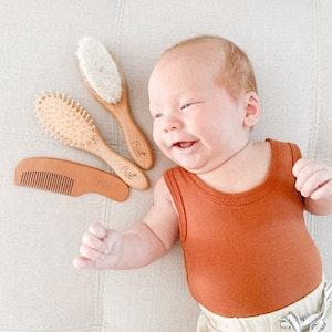 Bubba Bump Baby Baby Brush Set
